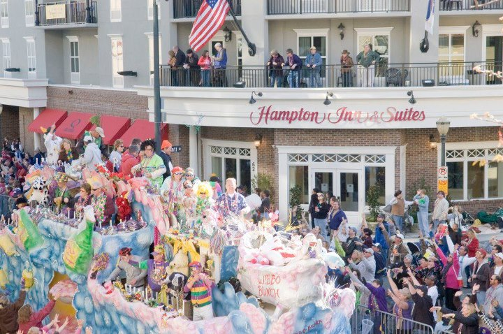 Mardi Gras At Hampton Inn