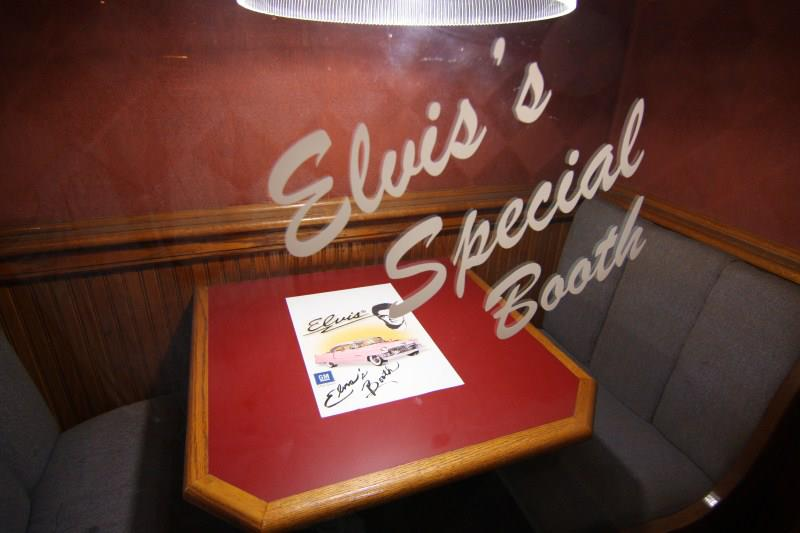 Elvis Booth In Dad's Place